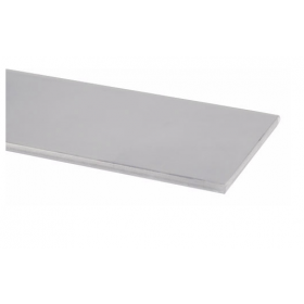 """Pemko 357SP Overlapping Astragal, 1/8"""" Thick, 2"""" Wide,  Galvannealed Steel"""