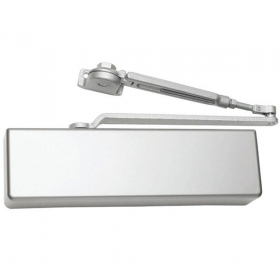 Falcon SC71A Hw/PA Heavy Duty Door Closer, with Hold Open Arm, Full Cover