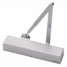 """Yale 2711 Commercial Door Closer With Hold-Open Arm - Regular, Parallel, Top Jamb to 2-3/4"""" Reveal"""