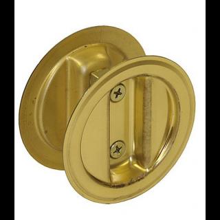 """Johnson 1534-3P1 Auto-Latching Pocket Door Lock Set, 1-3/4"""" Door"""