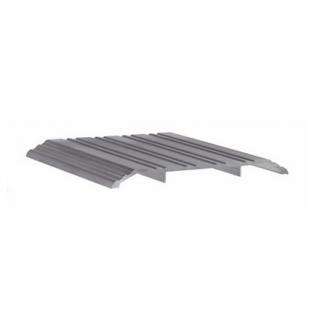 "Pemko 172A Saddle Threshold - 1/2"" x 6"" Mill Finish Aluminum"