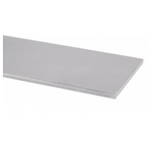"""Pemko 357C Overlapping Astragal, 1/8"""" Thick, 2"""" Wide, Clear Anodized Aluminum"""