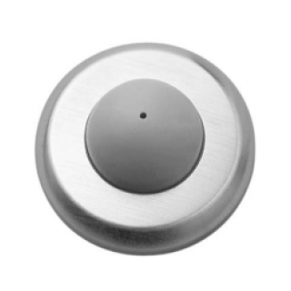 Rockwood 406 Convex Wrought Wall Stop TH SMS, Plastic Toggle Fastener