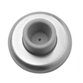 Rockwood 409 Concave Wrought Wall Stop TH SMS, Plastic Toggle Fastener