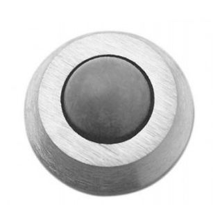 Rockwood 430 Convex Solid Cast Wall Stop OH SMS, Plastic Anchor Fastener