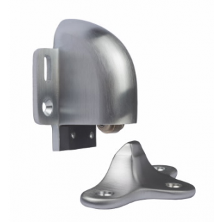 Rockwood 491 Automatic Door Holder & Stop, FH WS/Plastic Anchors