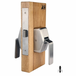ABH 6641 Institutional Mortise Hospital Push/Pull Latch