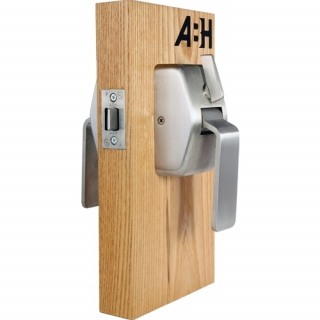ABH 6400 Series Pull-Side Privacy Cylindrical Hospital Push/Pull Latch