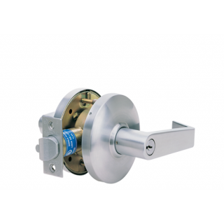 Cal-Royal Genesys Series Grade 1 Entrance/Office Lever Lock with Push Button