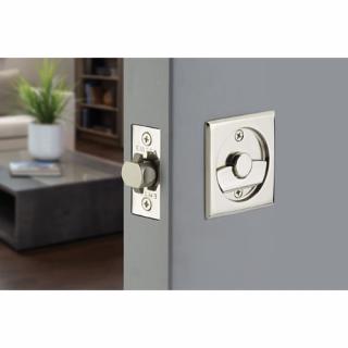 Emtek Tubular Pocket Door Lock- Square