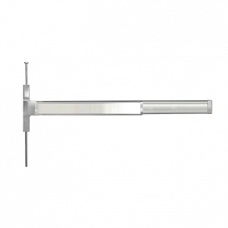 Cal-Royal GLSCVR7700 Series Grade 1 Narrow Stile Concealed Vertical Rod Exit Device