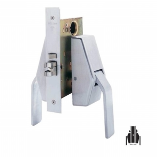 Schlage HL6-9040 Mortise Privacy Hospital Push/Pull Latch