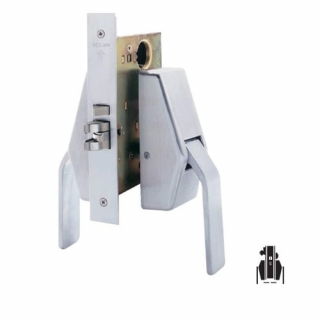Schlage HL6-9050 Mortise Entrance/Office Hospital Push/Pull Latch