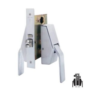 Schlage HL6-9485 Mortise Faculty/Hotel/Restroom Hospital Push/Pull Latch