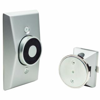 LCN SEM7840 Electromagnetic Door Holder/Release -  Low profile Recessed Wall Mount