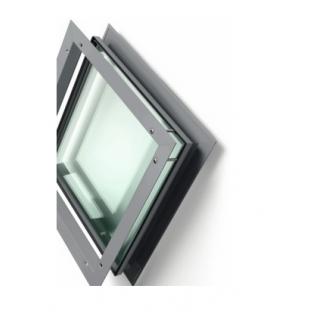 """Rockwood LT-B4 Vision Beveled Lite Kit - 11/16"""" Glazing Pocket for 7/8"""" to 1"""" Glass"""