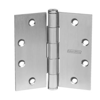 "McKinney MPB79 MacPro® Five Knuckle Standard Weight Bearing Hinge - 4.5"" x 4.5"""