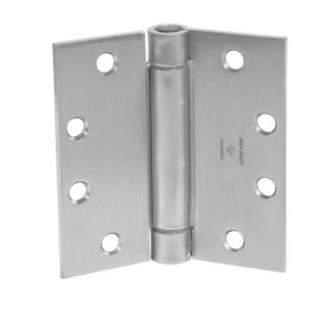 """McKinney 1502 Standard Weight Spring Hinge - 4.5"""" x 4.5"""""""