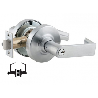 Schlage ND50PD Grade 1 Entrance/Office Lever Lock