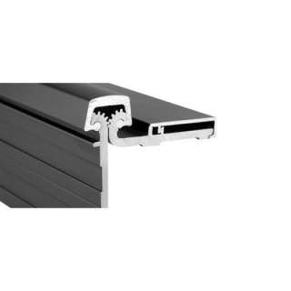 Pemko Half Surface Continuous Hinge - Safety