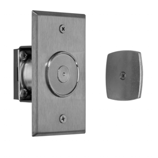 Rixson 989 Low Profile Electromagnetic Door Holder/Release - Wall Mounted