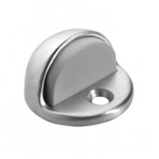 """Rockwood 440 Low Dome Stop with 1-1/4"""" Plastic Anchor"""