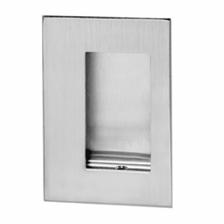 """Rockwood 94C Flush Pull with Concealed Screws, 3-1/2"""" x 5"""""""