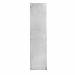 "Rockwood 70B Push Plate,  3-1/2"" x 15"""