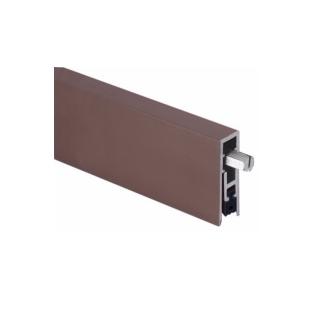 Pemko 4131DRL Surface and Semi-Mortise Automatic Door Bottom, Dark Bronze Aluminum Finish