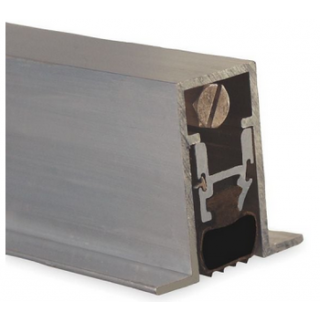 Pemko 434APKL Automatic Door Bottom, Mill Aluminum Finish