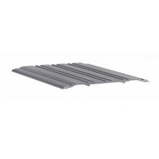 "Pemko 271A Saddle Threshold - 1/4"" x 5"" Mill Finish Aluminum"