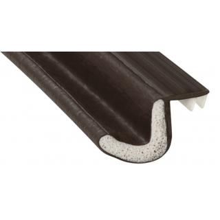 Pemko Q102D Kerf-In Weatherstrip Foam, Dark Brown