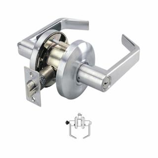 Cal-Royal Pioneer Series Grade 2 Entrance Push Button Lever Lock