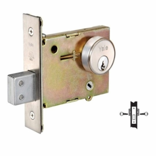 Yale 351 Double Cylinder Mortise Deadlock