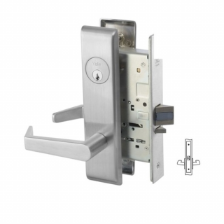 Yale 8801FL Passage Mortise Lever Latch