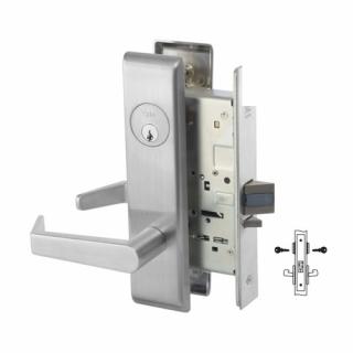 Yale 8808-2FL Intruder Latchbolt Mortise Lever Lock
