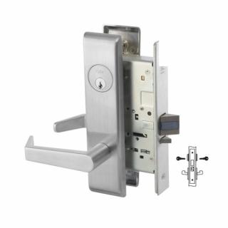Yale 8811-2FL Intruder Deadbolt Mortise Lever Lock