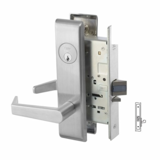 Yale 8828FL Exit or Communicating Mortise Lever Lock