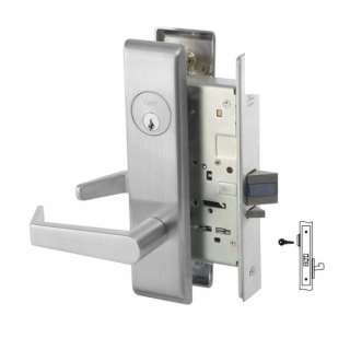 Yale 8833FL Exit Mortise Lever Lock