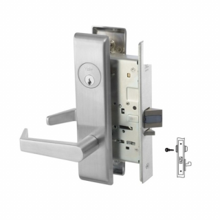Yale 8834FL All Purpose Mortise Lever Lock