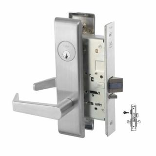 Yale 8840FL Storeroom Deadbolt Mortise Lever Lock