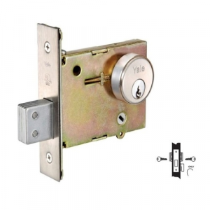 Yale 356 Double Cylinder with Thumbturn Mortise Deadlock