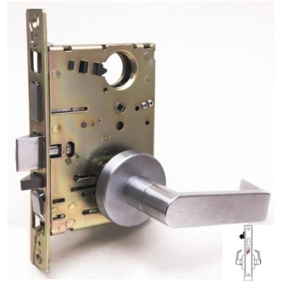 Cal-Royal NM8465 Closet/Storeroom Mortise Lock with Deadbolt