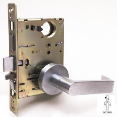 Cal-Royal NM8495 Privacy Mortise Lock with Occupancy Indicator