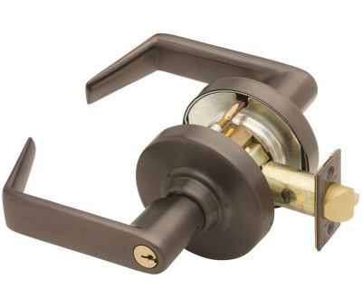 Schlage ND70PD Grade 1 Classroom Lever Lock - Outside
