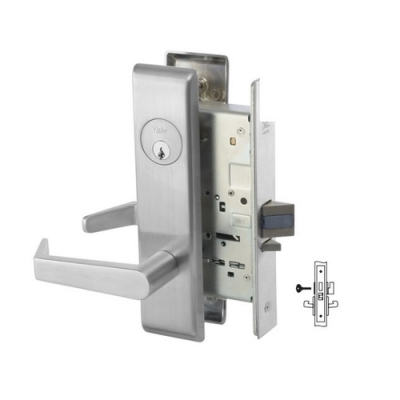 Yale 8802FL Privacy, Bedroom or Bath Mortise Lever Lock