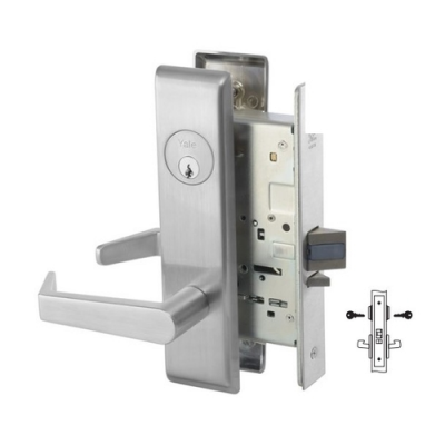 Yale 8808-2FL Intruder Latchbolt Mortise Lever Lock