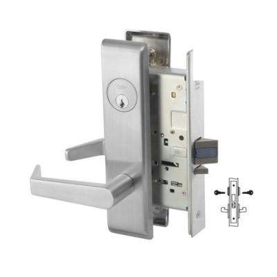 Yale 8811-2FL Intruder Deadbolt Mortise Lever Lock