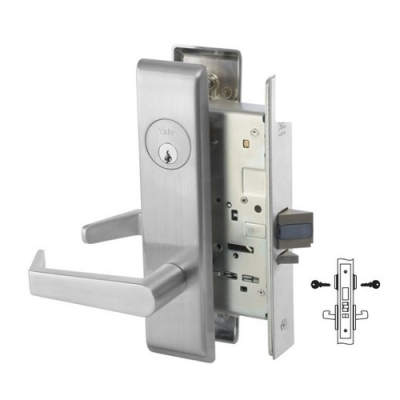 Yale 8812-2FL Intruder Deadbolt Mortise Lever Lock