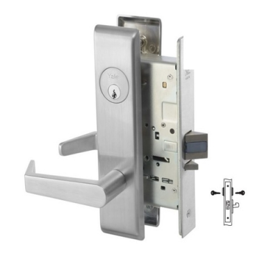 Yale 8834-2FL All Purpose Mortise Lever Lock